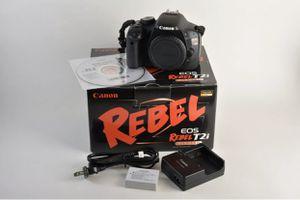 Canon EOS Rebel T2i w/ Pelican 1150 Hard Case for Sale in Newton, KS