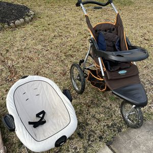 Stroller And Gate And Bouncer for Sale in Spring, TX