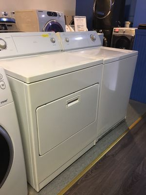 Whirlpool top load washer and dryer set in excellent condition for Sale in Baltimore, MD