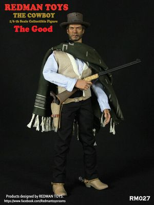 Clint Eastwood the good 1/6 hot toys figure RM007 for Sale in Brooklyn, NY