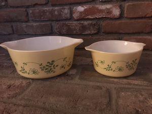 2 Vintage Pyrex Shenandoah Nesting Bowls for Sale in La Habra, CA