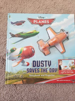 Disney planes, Dusty saves the day storybook and projector for Sale in Murrieta, CA