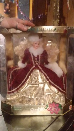 happy holidays Barbie for Sale in Wichita, KS