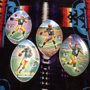 Green Bay Packers Brett Favre collector plates for Sale in Addison, IL