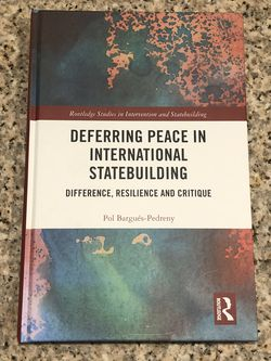 Deferring Peace In International Statebuilding for Sale in Washington,  DC