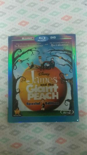 James and the giant peach movie for Sale in Fairfax, VA