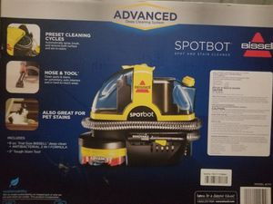 Bissell advanced SpotBot carpet cleaner for Sale in Crest Hill, IL