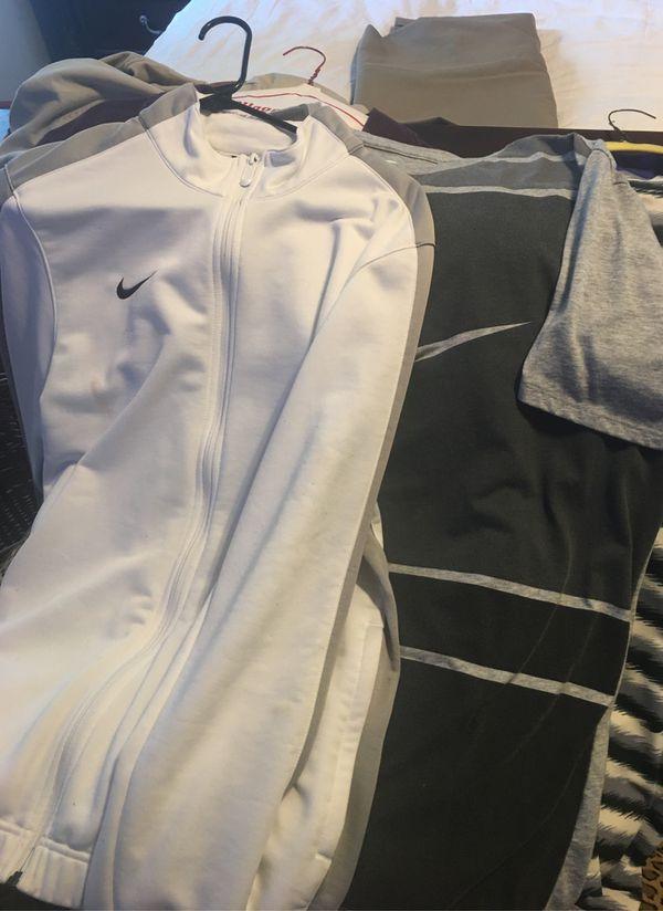Nike large and extra large Dri Fit shirts