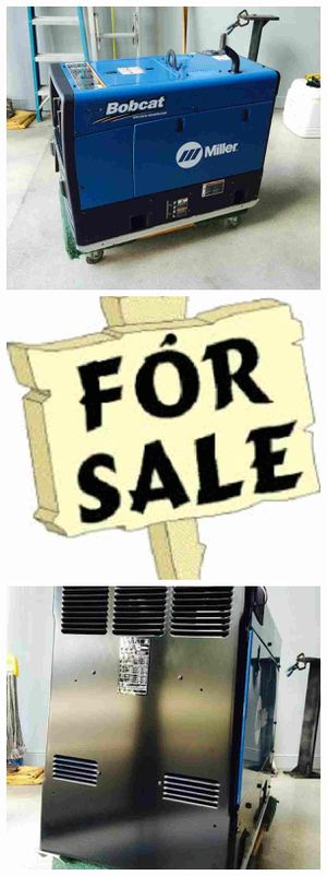 2015 Bobcat Miller 250 Welder for Sale in Tacoma, WA