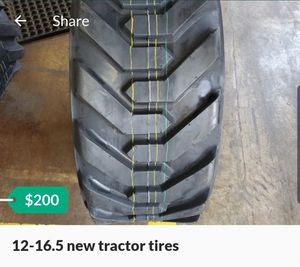 12-16.5 new tractor tires for Sale in Houston, TX