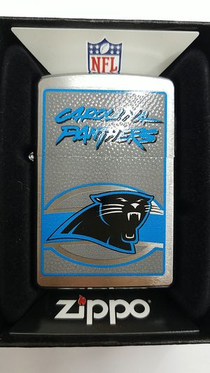 Zippo NFL Carolina Panthers brushed chrome 24623 for Sale in Los Angeles, CA