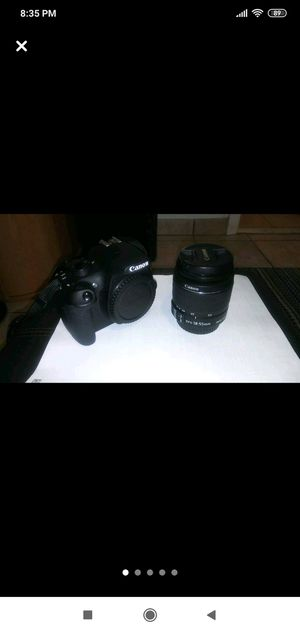 Canon T5 DSLR working perfectly for Sale in North Bergen, NJ