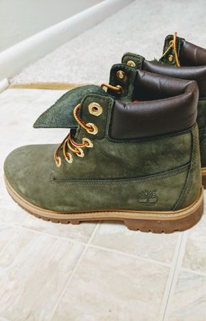 Green Timberland Boots (Timbs) for Sale in Rockville, MD