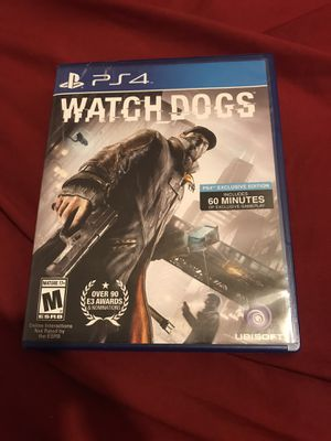 Watch Dogs for PS4 for Sale in Scottsdale, AZ