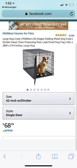 42 inch dog crate for Sale in Los Angeles, CA