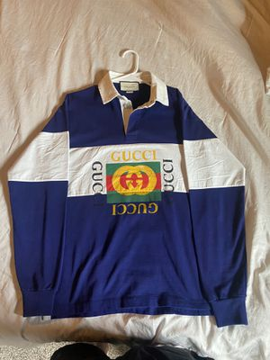 Gucci Rugby Polo Shirt - 100% Authentic - never worn- Men's sz M/L for Sale in Castle Rock, CO