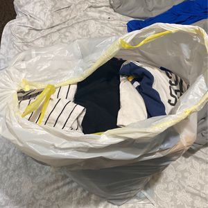 Bag Of Clothing For Girls Fits A 13 Year Old Girl It's Diff Sizes Washed And Cleaned U Pick Up 5 Dollars The Whole Bag for Sale in La Puente, CA