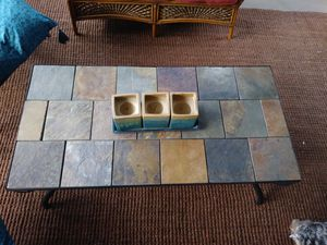 Slate top coffee table for Sale in Woodstock, GA