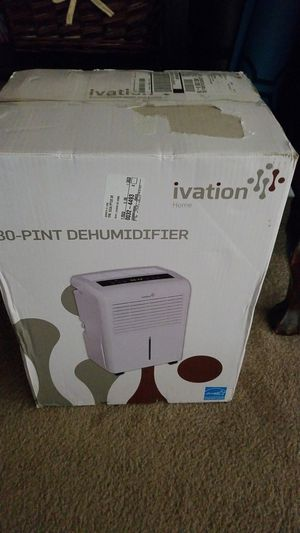 Ivation 30 pt Dehumidifier for Sale in Levittown, PA