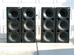 Pro audio sound system for Sale in North Las Vegas, NV