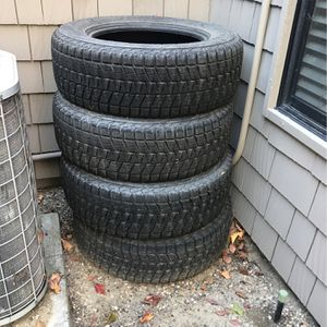 Get Ready For Ski Season With These 4 Blizzak Tires!!! for Sale in Encinitas, CA