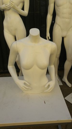 female torso Mannequin with metal stand/ base for Sale in Santa Ana, CA
