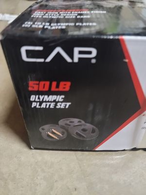 CAP Olympic Weight plates for Sale in Orange, CA