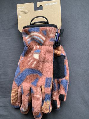 Patagonia Synchilla Gloves Sz M for Sale in Ontario, CA