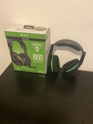 Xbox one turtle beach stealth 600 wireless headset for Sale in Newark, NJ