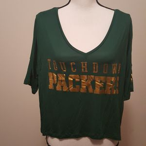 PINK Victoria's Secret 5th & Ocean Packers Shirt for Sale in Crandon, WI