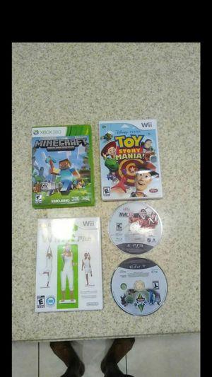 5 video games for Sale in Loxahatchee, FL