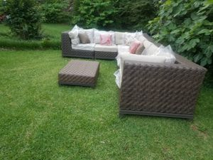 Outdoor patio furniture sectional for Sale in Atlanta, GA