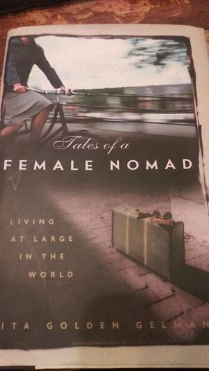 BOOK: Tales of a Female Nomad by Rita Golden Gelman for Sale in Citrus Heights, CA