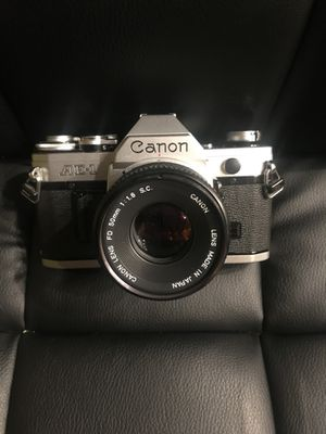 Vintage canon AE-1 with 50mm lens for Sale in Norcross, GA