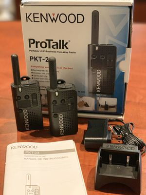 Kenwood 2 Way Portable Radios PKT-23 ProTalk for Sale in Diamond Bar, CA