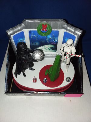 Brand new Disney Star Wars Musical tabletop Decor Christmas music for Sale in Allentown, PA