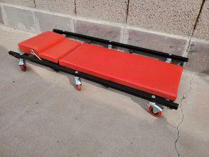 Adjustable red mechanics creeper for Sale in Chandler, AZ