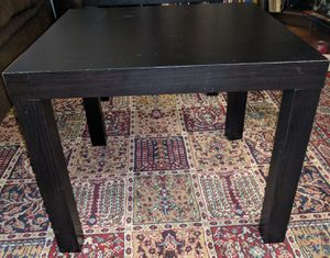 Coffee table & 2 end tables - black for Sale in Arlington, VA