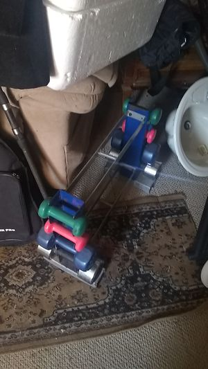 Rebok weights and stand for Sale in Trenton, NJ
