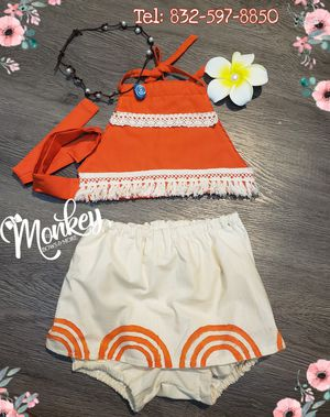 Outfit moana baby for Sale in Houston, TX