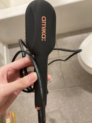 Amika hair straightening brush for Sale in Irvine, CA