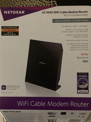 NETGEAR modem router for Sale in Spring Hill, FL