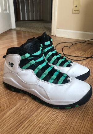 "Jordan Retro 10 ""Verde Mint"" for Sale in Leland Grove, IL"