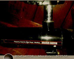 BOAT MOTOR 🚣♂️ Minn Kota ⚓ 65mx BEST OFFERS TAKEN for Sale in Bristol, PA