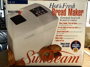 Sunbeam bread maker- 1 pound loaves for Sale in North Las Vegas, NV
