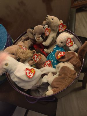 TY Original Beanie Babies for Sale in Pflugerville, TX
