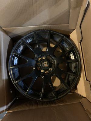 """Motegi Racing Wheels, matte black. 17"""" diameter x 8"""" width for Sale in Wolcott, CT"""