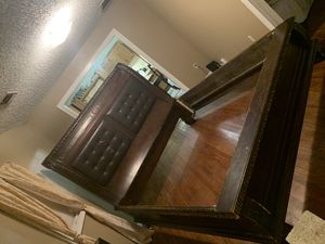 KING SIZE BED FRAME & NIGHT STAND for Sale in Little Rock, AR