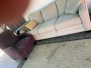 Sofa and side chair. for Sale in Fresno, CA