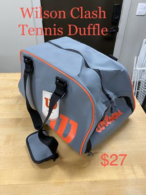 Wilson Clash tennis duffle bag for Sale in Glendale, CO